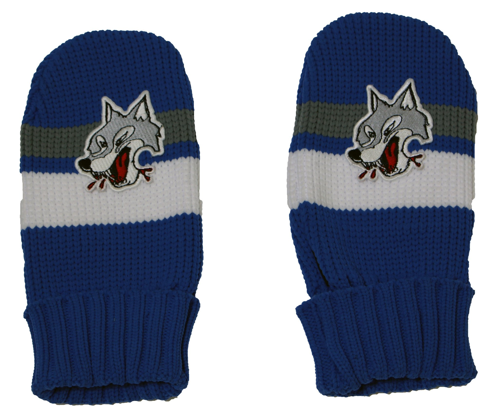 Gongshow Sudbury Wolves Mittens