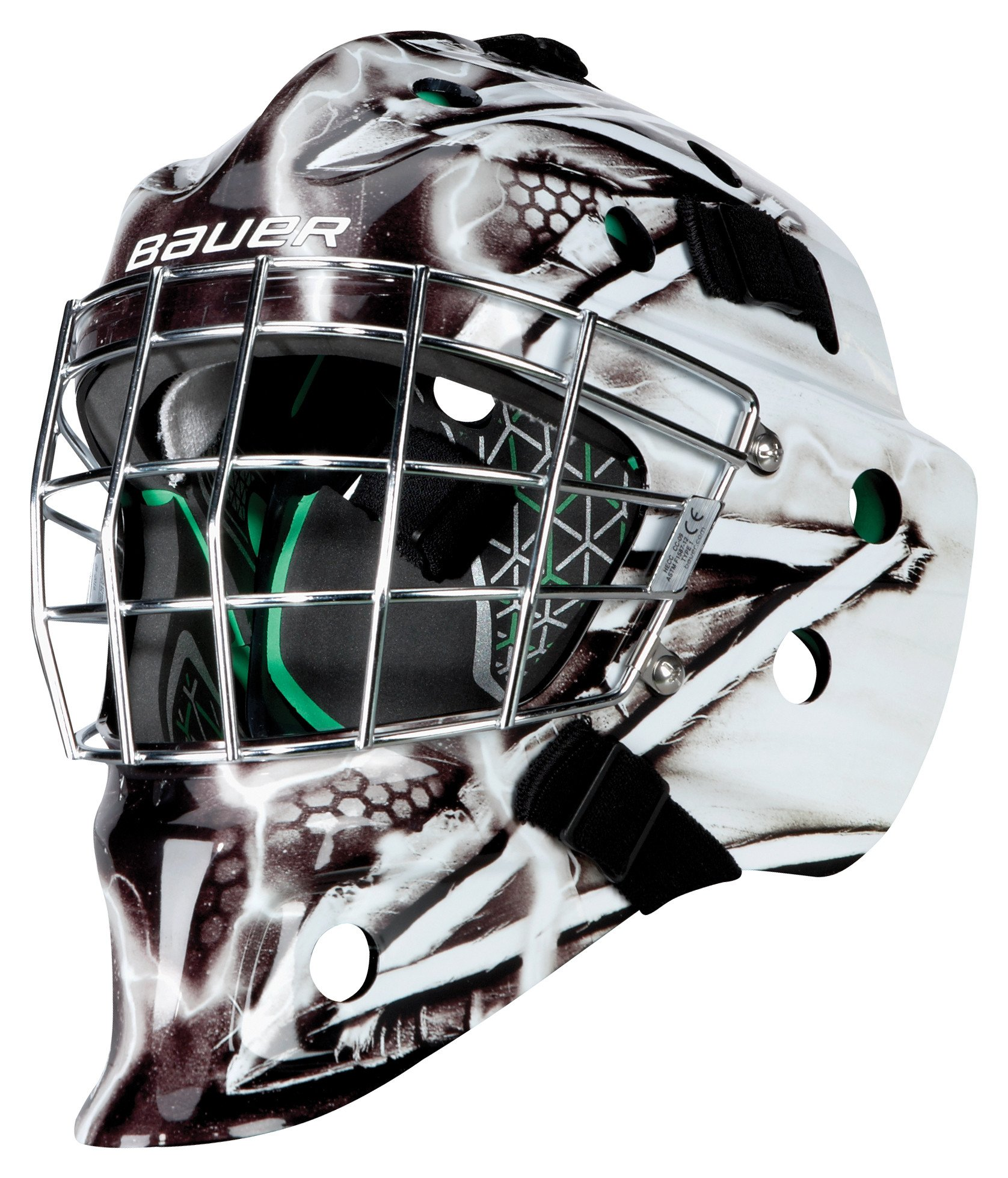 Bauer NME 4 Youth Goalie Mask - L.A. Kings