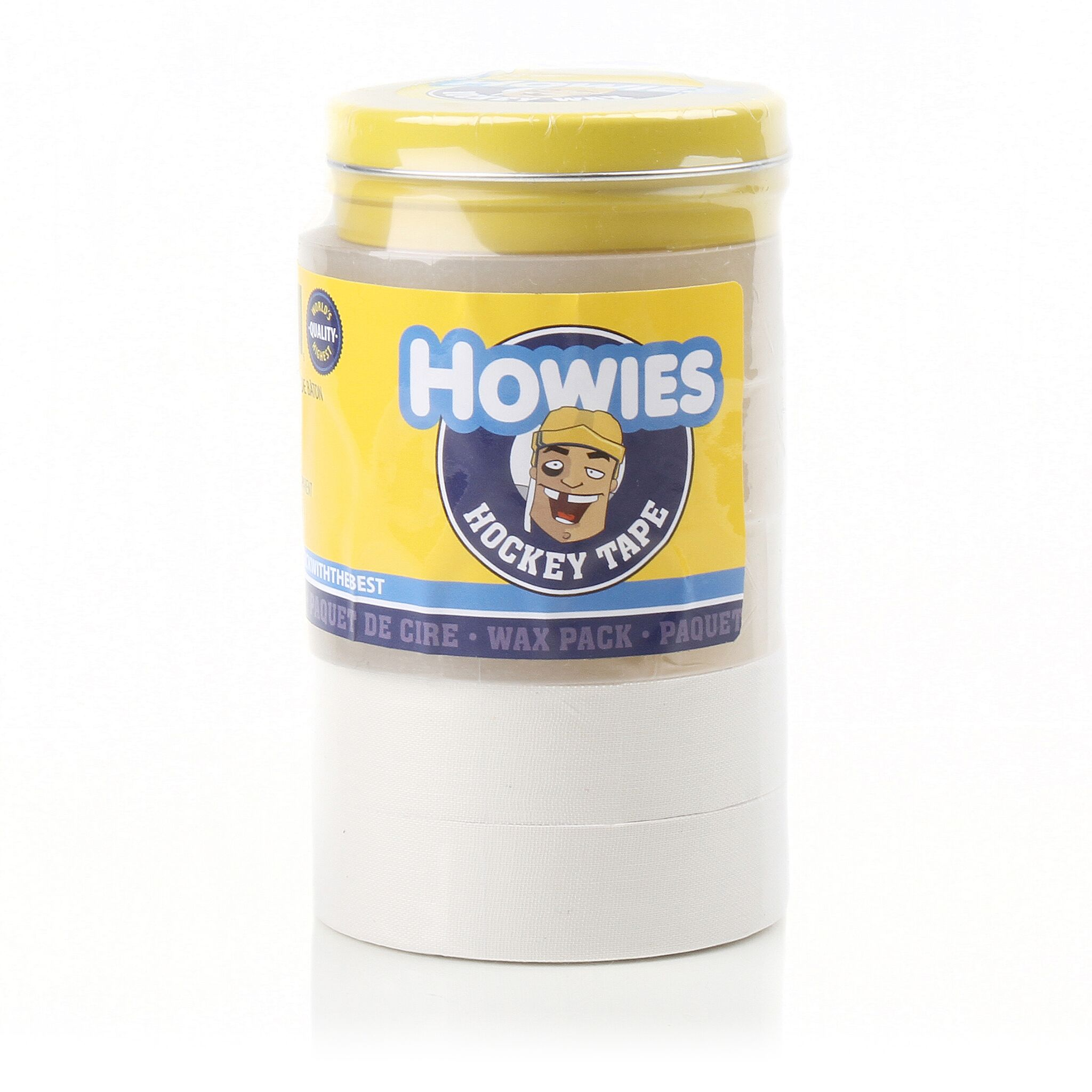 Howies White & Clear Hockey Tape With Wax Pack