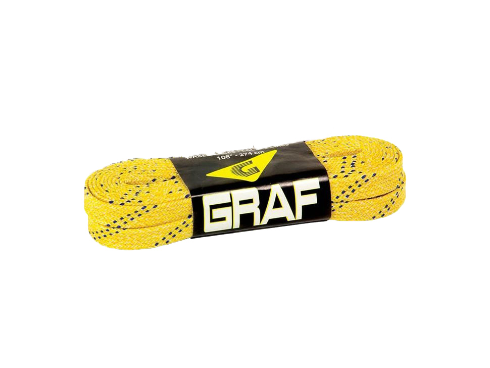 Graf Waxed Laces - Yellow