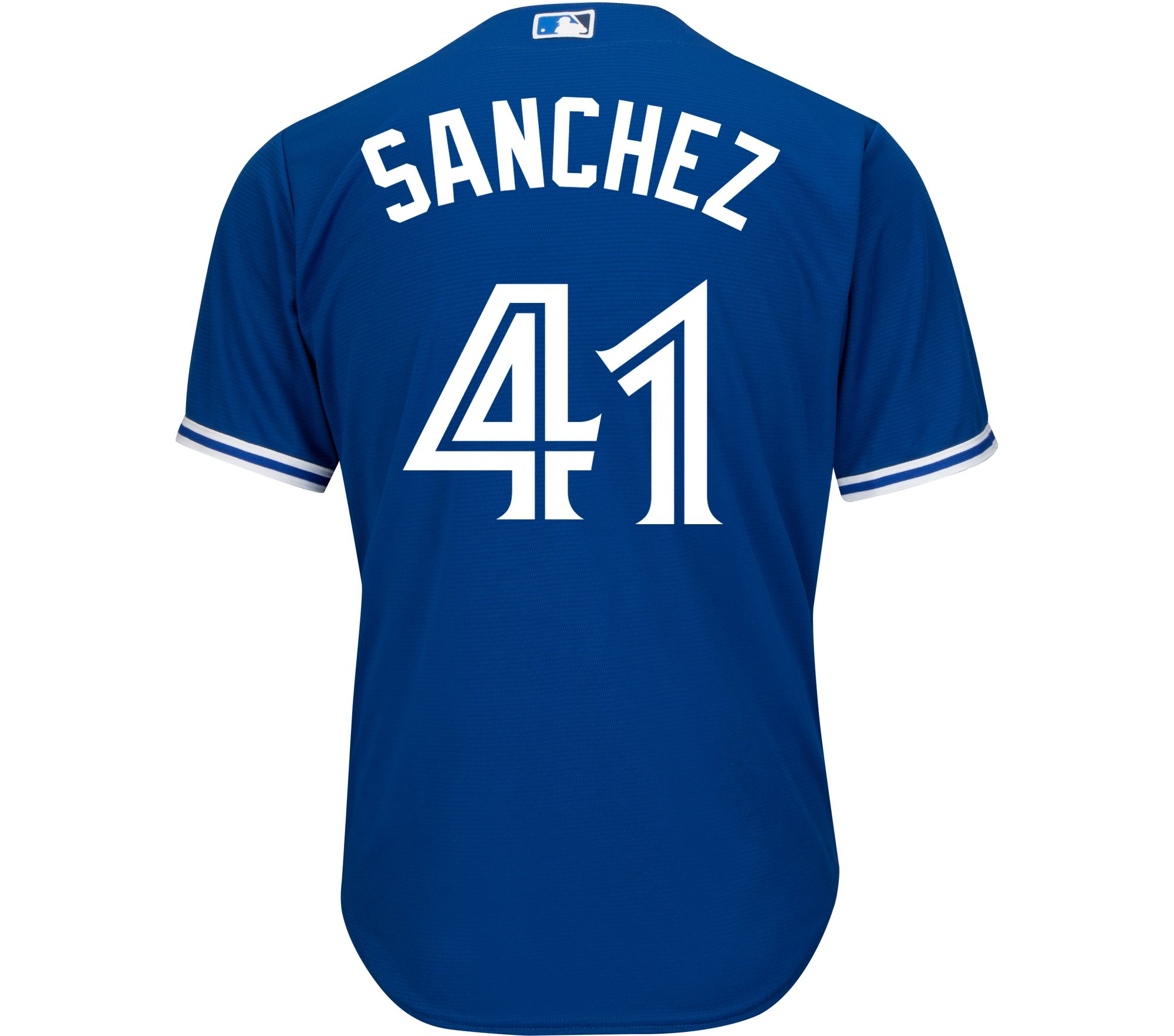 san francisco c2310 87daa Toronto Blue Jays Majestic Replica Jersey - Sanchez