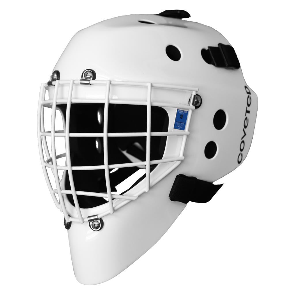 Coveted A5 Youth Goalie Mask - White