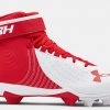 Under Armour Adult Harper 4 Mid RM RED WHITE