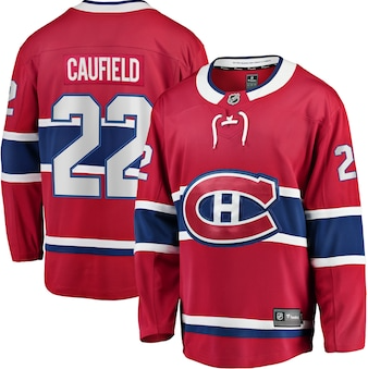 CAUFIELD MONTREAL CANADIENS JERSEY