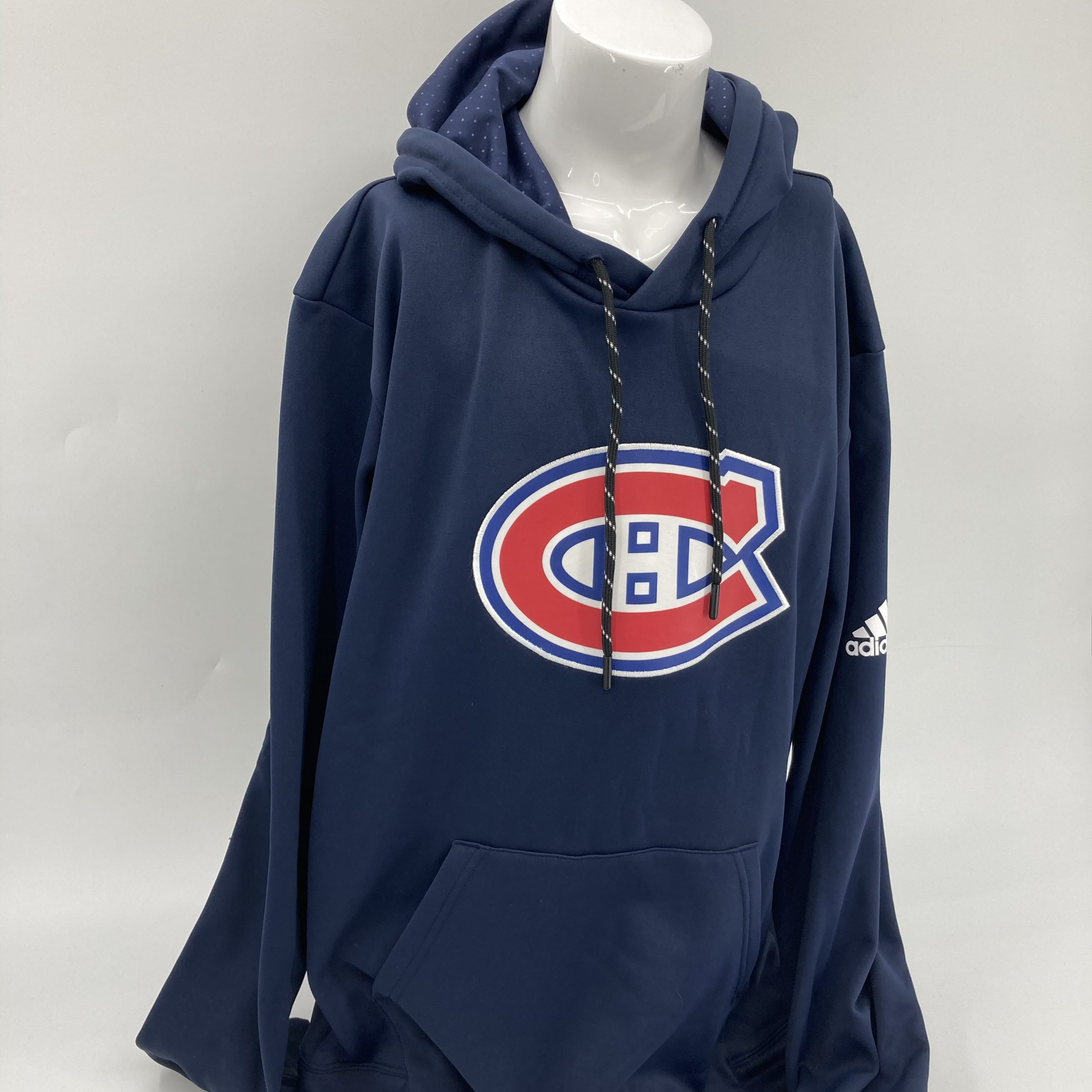 MONTREAL CANADIENS ADIDAS PULLOVER HOOD