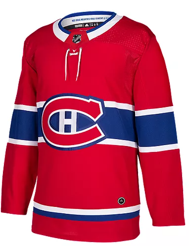 Montreal Canadiens Authentic Adidas Home Jersey