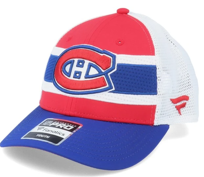 MONTREAL CANADIENS FANATICS YOUTH HAT