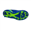 eletto kids soccer cleat blue and green bottom