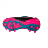 Pink girls soccer cleat