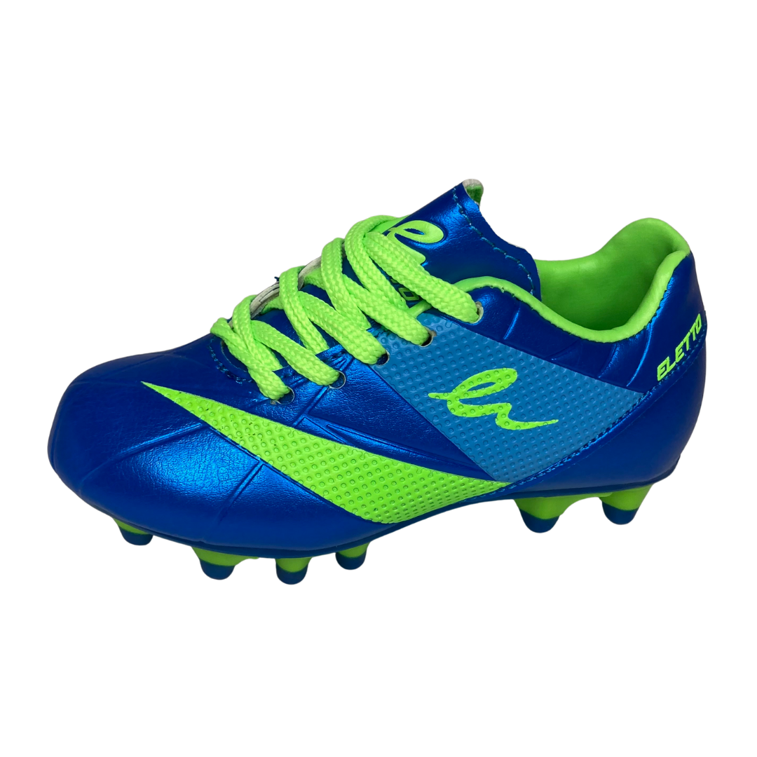 ELETTO LNA-090 TPR YOUTH 8 SOCCER CLEAT Blue/Green